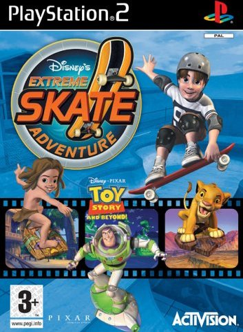 Disney's Extreme Skate Adventure (niemiecki) (PS2) -- via Amazon Partnerprogramm