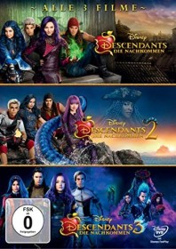 Descendants 1-3 (DVD)