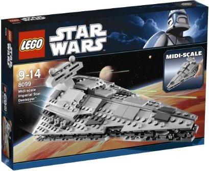 LEGO Star Wars Episoden I-VI - Midi-Scale Imperial Star Destroyer (8099) -- via Amazon Partnerprogramm