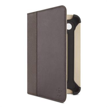 Belkin Samsung Galaxy Tab 2 Cinema leather Folio brown (F8M388cwC01)