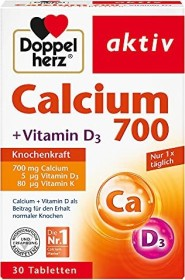 Doppelherz calcium 700 tablets, 30 pieces