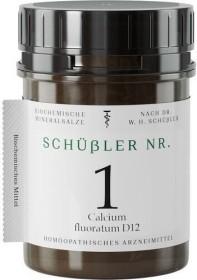 Apofaktur Schüßler Nr. 1 Calcium fluoratum D12 Tabletten, 400 Stück
