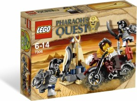 LEGO Pharao´s Quest - Jagd nach dem Goldstab (7306)