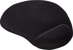 Ednet gel mousepad black (64020)