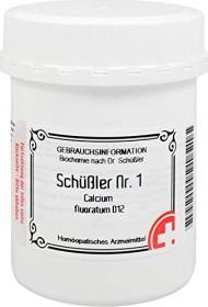 Apofaktur Schüßler Nr. 1 Calcium fluoratum D12 Tabletten, 1000 Stück