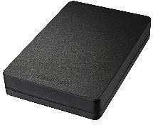 Toshiba Stor.E Canvio Alu schwarz 1TB, USB 3.0 Micro-B (HDTH310EK3AA)