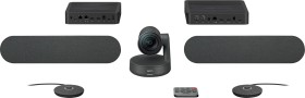 Logitech Rally Plus ConferenceCam System, schwarz (960-001224)