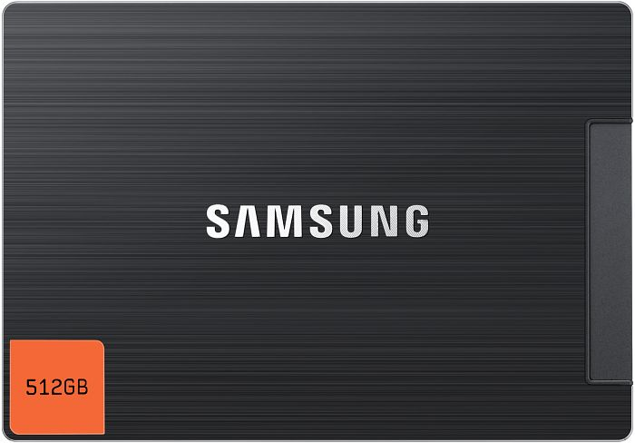 "Samsung SSD 830 Series 512GB, 2.5"", SATA 6Gb/s (MZ-7PC512B) -- (c) computerbase.de"