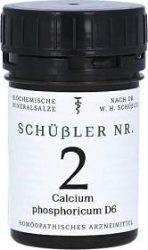 Apofaktur Schüßler Nr. 2 Calcium phosphoricum D6 Tabletten, 200 Stück