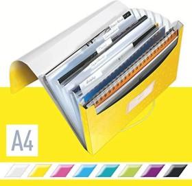 Leitz WOW Projektmappe A4, 250 Blatt, gelb (45890016)