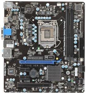 MSI H61M-E33 (7680-040R)