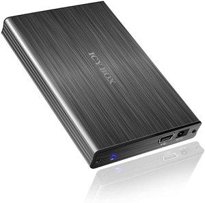 """RaidSonic Icy Box IB-231StU-G, 2.5"""", USB 2.0 Micro-B (20233)"""
