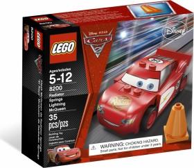 LEGO Cars - Radiator Springs Lightning McQueen (8200)