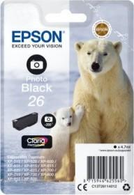 Epson Tinte 26 schwarz photo (C13T26114010)