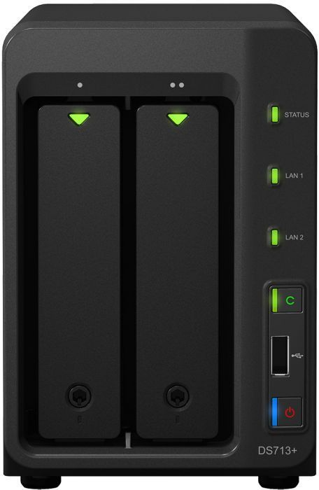 Synology Diskstation DS713+, 2x Gb LAN