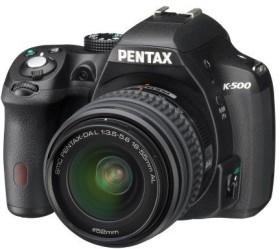 Pentax K-500 schwarz mit Objektiv DA L 18-55mm (15506)