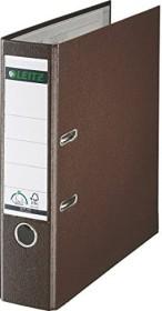 Leitz Qualitäts-Ordner 180° Plastik 80mm, braun (10105075)