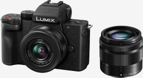 Panasonic Lumix DC-G100 mit Objektiv Lumix G Vario 12-32mm OIS und 35-100mm OIS (DC-G100WEB-K)