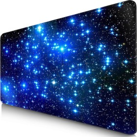 Sidorenko MaxLVL XL Gaming mousepad star, 900x400mm, black/blue