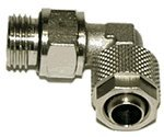 "Innovatek compression fitting 1/4"" angled for 10/8mm (500180)"