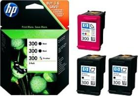 HP Druckkopf mit Tinte 300 2x schwarz/dreifarbig (SD518AE)