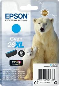 Epson Tinte 26XL cyan (C13T26324010)