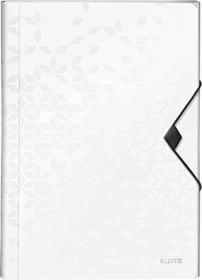 Leitz WOW Projektmappe A4, 250 Blatt, weiß (45890001)