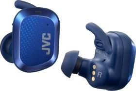 JVC HA-AE5T blau