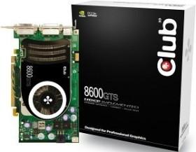 Club 3D GeForce 8600 GTS, 256MB DDR3 (CGNX-GTS866)