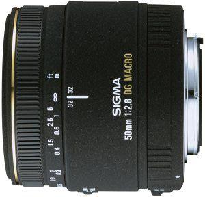 Sigma AF 50mm 2.8 EX DG Makro für Sigma schwarz (346940)