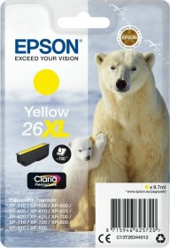 Epson Tinte 26XL gelb (C13T26344010)