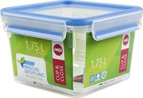 Emsa Clip&Close quadratisch 1.75l Aufbewahrungsbehälter blau (508537)