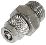 "Innovatek compression fitting 1/4"" straight for 4x1 (500285)"