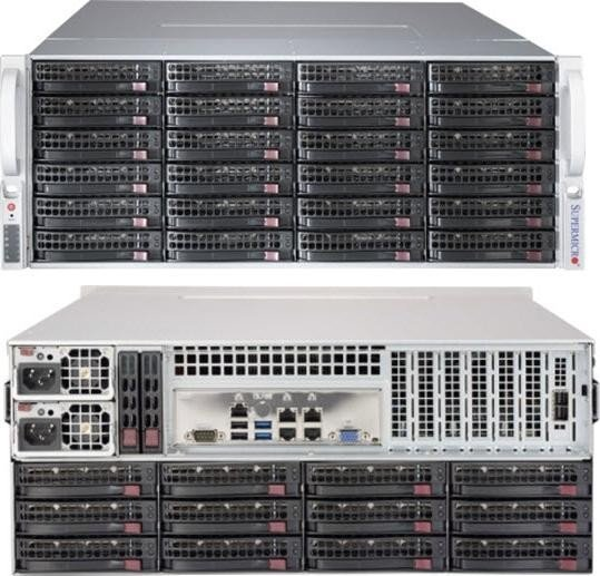 Supermicro SuperChassis 847BE1C-R1K28LPB black, 4U, 2x 1280W redundant (CSE-847BE1C-R1K28LPB)