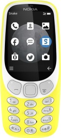Nokia 3310 3G Dual-SIM gelb