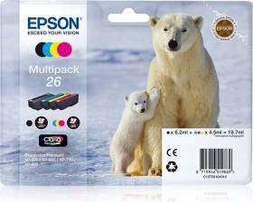 Epson Tinte 26 Multipack (C13T26164010)