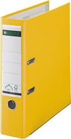 Leitz Qualitäts-Ordner 180° Plastik 80mm, gelb (10105015)