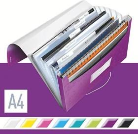 Leitz WOW Projektmappe A4, 250 Blatt, violett (45890062)