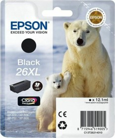 Epson Tinte 26XL schwarz (C13T26214010)