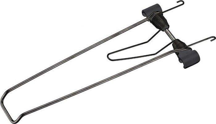 144mm Plattformbreite 12mm für breite Träger Federklappe Racktime Clampit schw