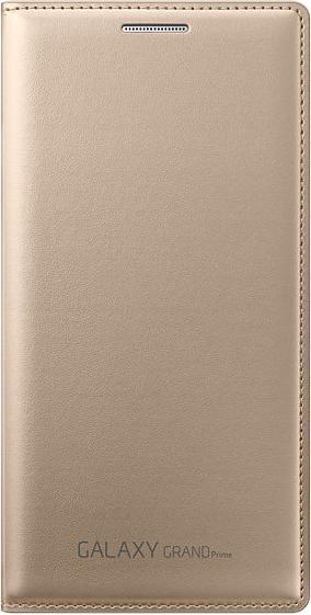 Samsung EF-WG530BF Flip Wallet für Galaxy Grand Prime gold