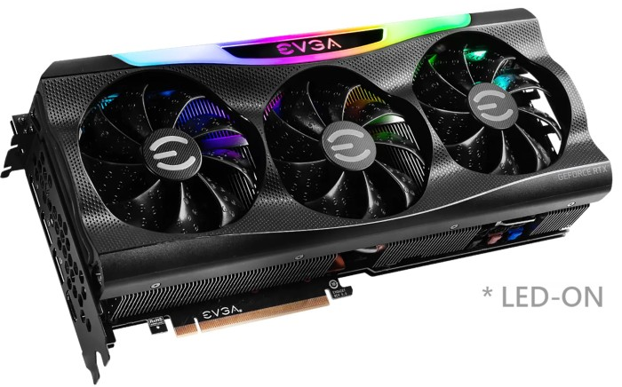 EVGA GeForce RTX 3090 FTW3 Ultra Gaming, 24GB GDDR6X, HDMI, 3x DP (24G-P5-3987-KR)