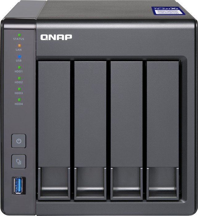 QNAP Turbo Station TS-431X2-8G 24TB, 1x 10Gb SFP+, 2x Gb LAN