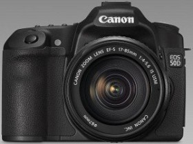 Canon EOS 50D schwarz mit Objektiv EF-S 17-85mm und EF 70-300mm (2807B058)