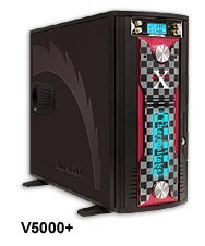 Thermaltake XaserV Damier V5000+ Midi-Tower black (without power supply)