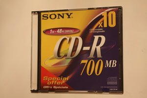 Sony CD-R 80min/700MB -- © bepixelung.org