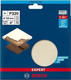 Bosch Professional Expert M480 Exzenterschleifblatt 150mm K320, 5er-Pack (2608900696)