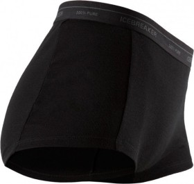 Icebreaker Everyday Boy Shorts Boxershorts schwarz (Damen)