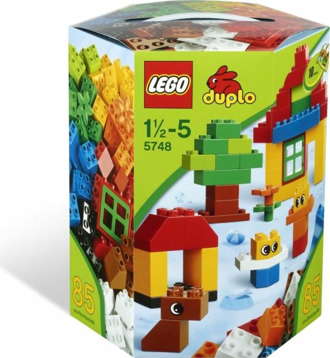 LEGO DUPLO Steine & Co. - Bausteine-Trommel (5748) -- via Amazon Partnerprogramm