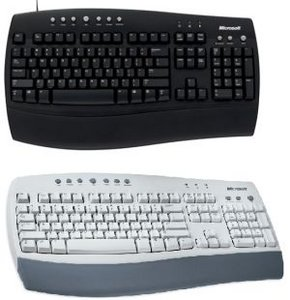 Microsoft Internet Keyboard, PS/2 (C19-00345) (various layouts)
